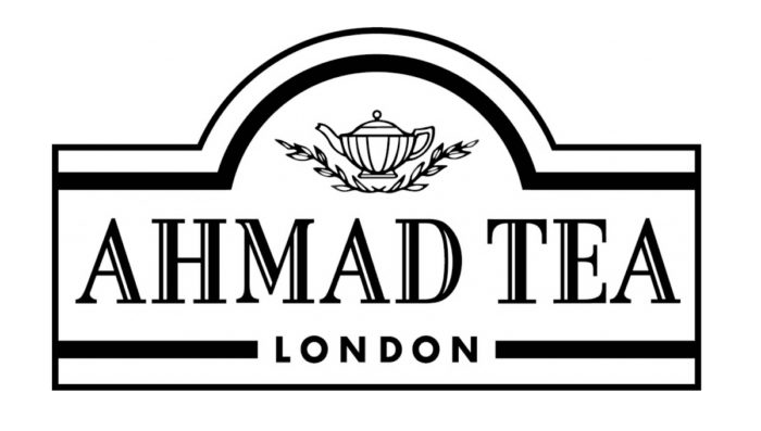 Ahmad Tea logo, black