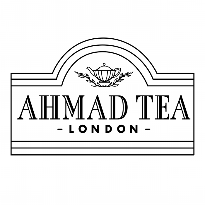 Ahmad Tea logo black