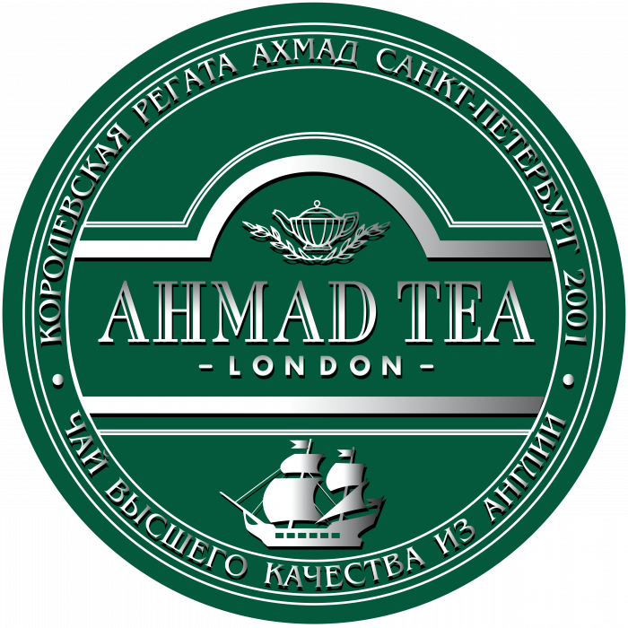 Ahmad Tea logo green