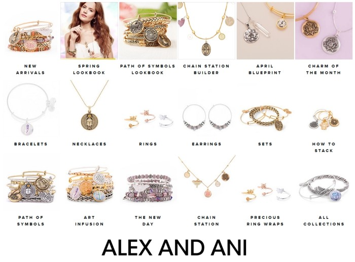 Alex and Ani jewelry, rings, bracelets, necklaces, earrings