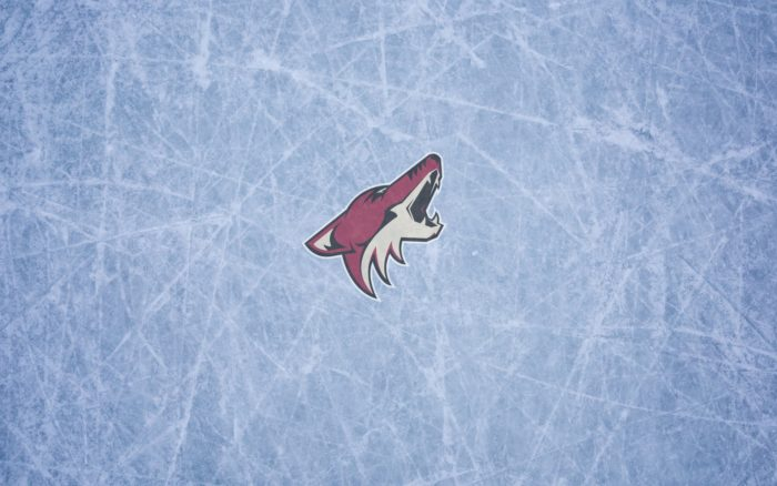 Arizona Coyotes wallpaper with logo, widescreen, 1920x1200, 16x10