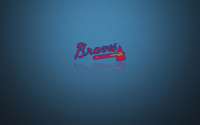 Atlanta Braves wallpaper, desktop background with team logo