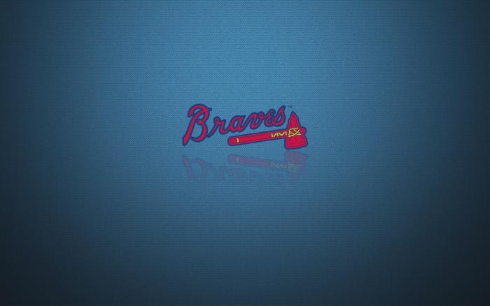 Atlanta Braves wallpaper, desktop background with team logo