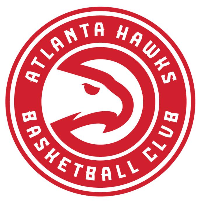 Atlanta Hawks logo, emblem, logotype