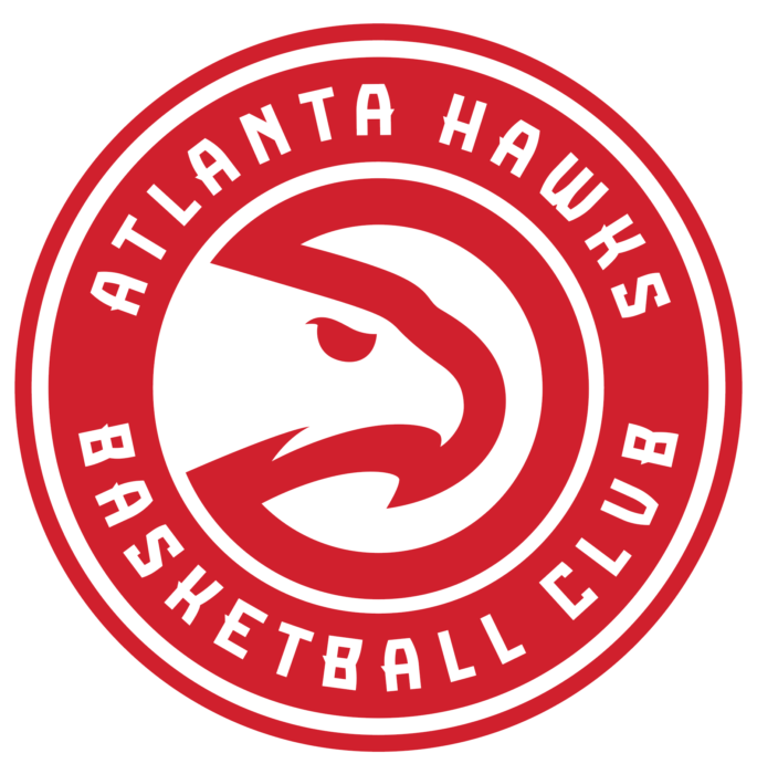 Atlanta Hawks logo, transparent bg