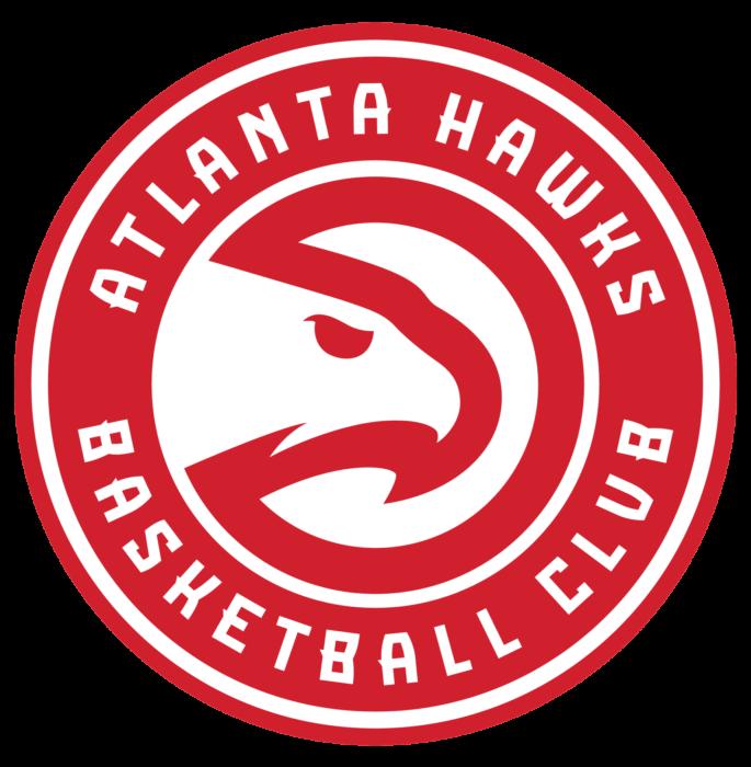Atlanta Hawks logo, transparent bg