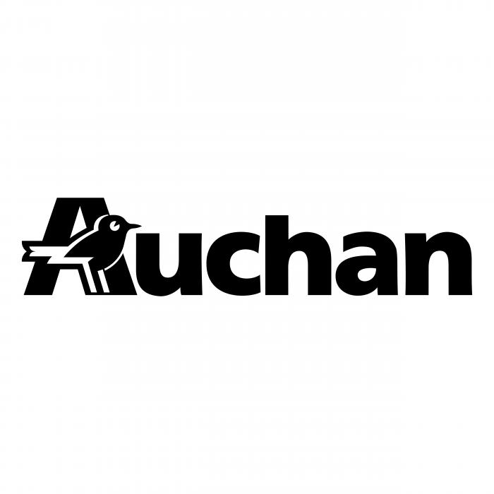 Auchan logo black