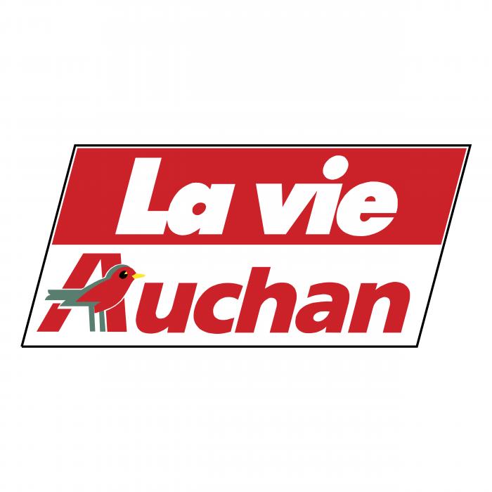 Auchan logo la vie