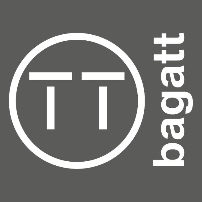 Bagatt logo, gray