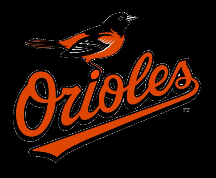 Baltimore Orioles logo, emblem, transparent bg