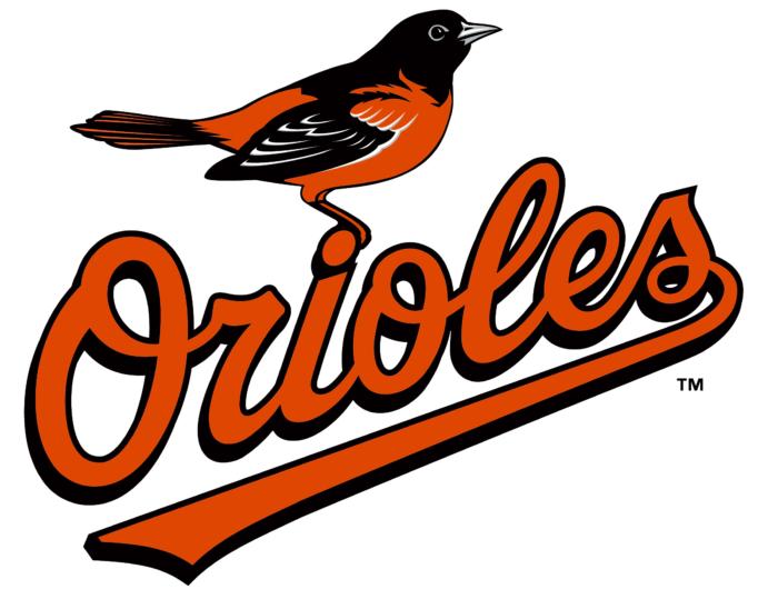 Baltimore Orioles logo, symbol, white background