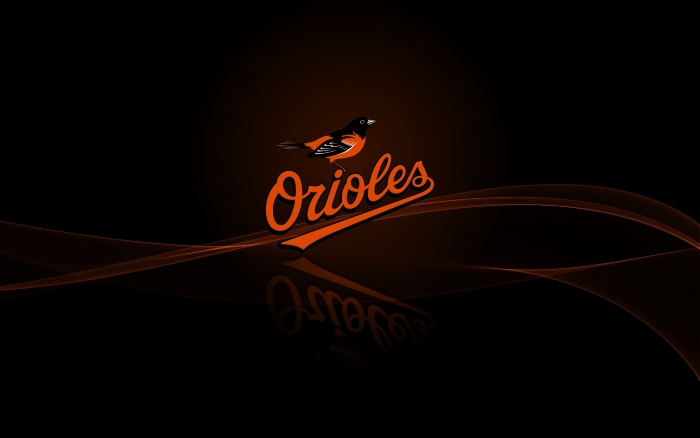 Baltimore Orioles wallpaper with logo - 1920x1200 px, wide