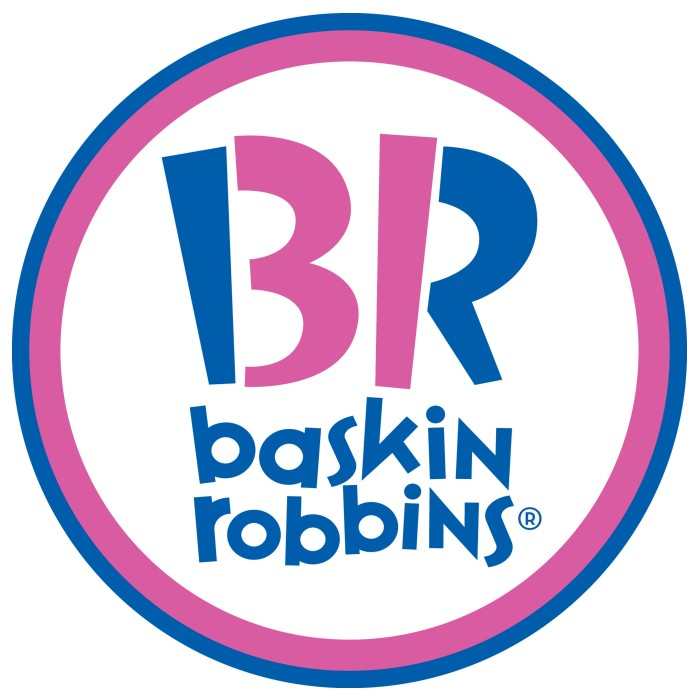 Baskin-Robbins logo, logotype, emblem, symbol