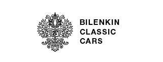 Bilenkin Classic Cars logo, logotype, white