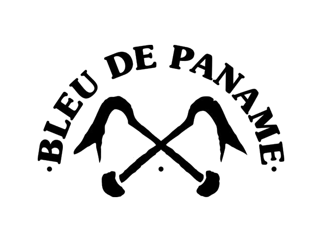 Bleu de Paname logotype, black