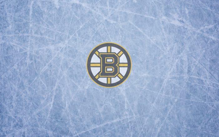 Boston Bruins wallpaper (logo, ice) 1920x1200