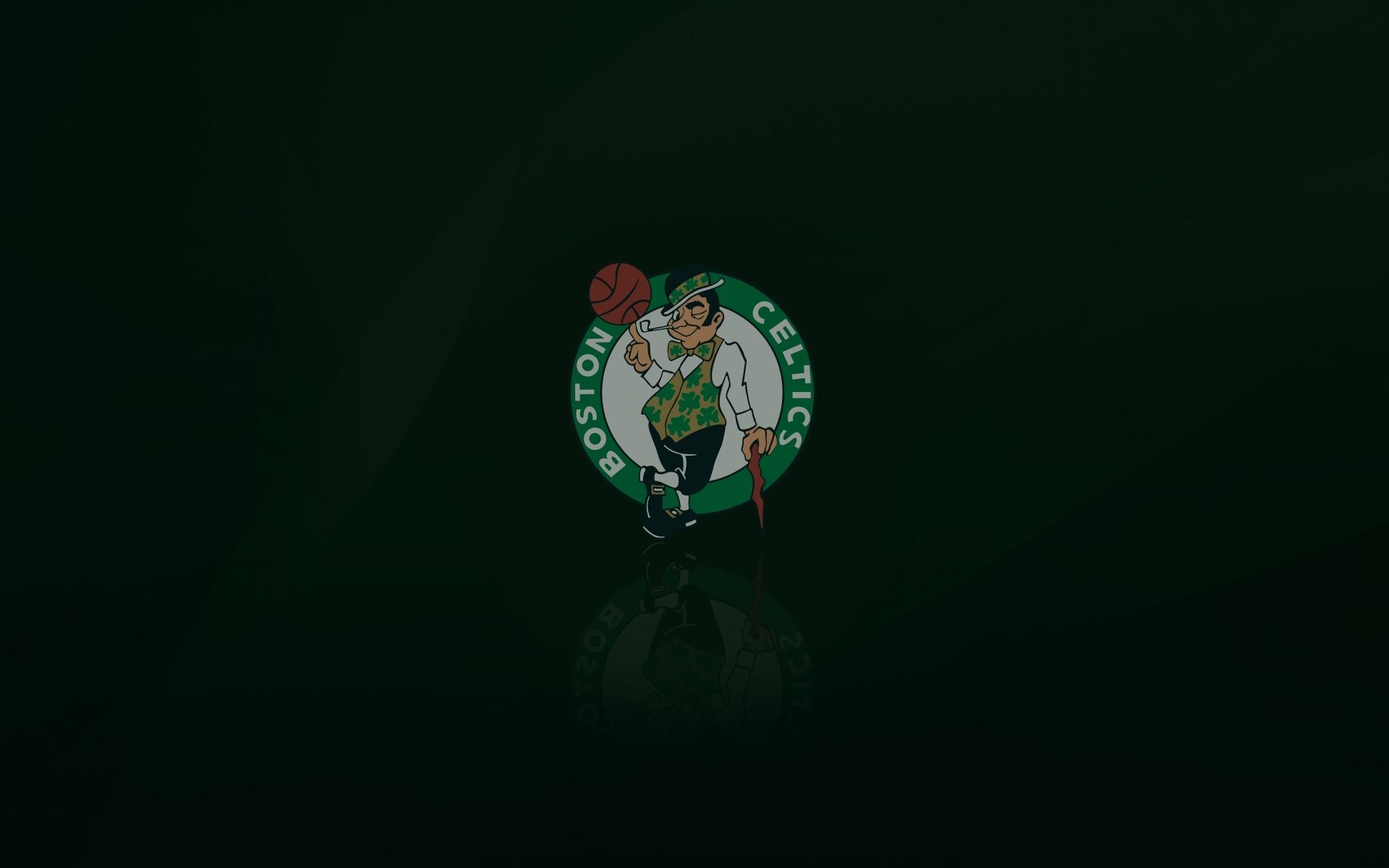 Boston Celtics Wallpaper With Logo On It 1920x1200