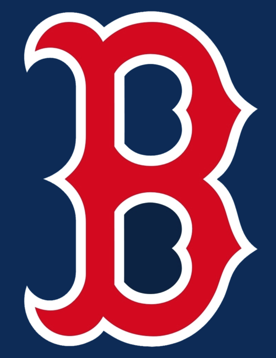 Boston red sox logo, blue