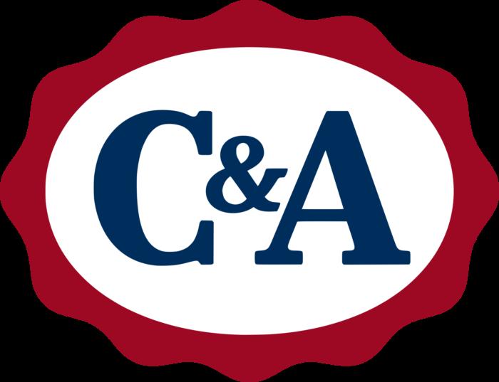 C&A logo, logotype, emblem
