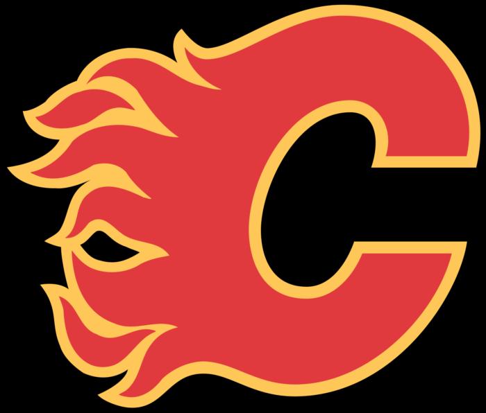 Calgary Flames logo, emblem, logotype