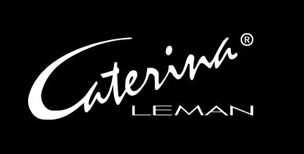 Caterina Leman logo, black color