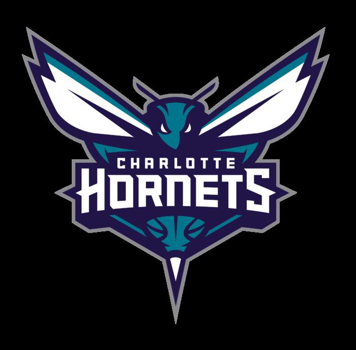 Charlotte Hornets logo, logotype, emblem