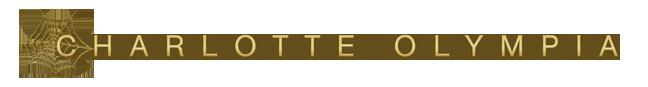Charlotte Olympia logo, logotype, transparent
