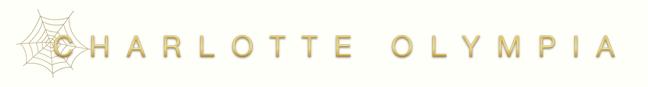 Charlotte Olympia logo, white bg