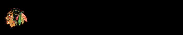 Chicago Blackhawks logo and wordmark