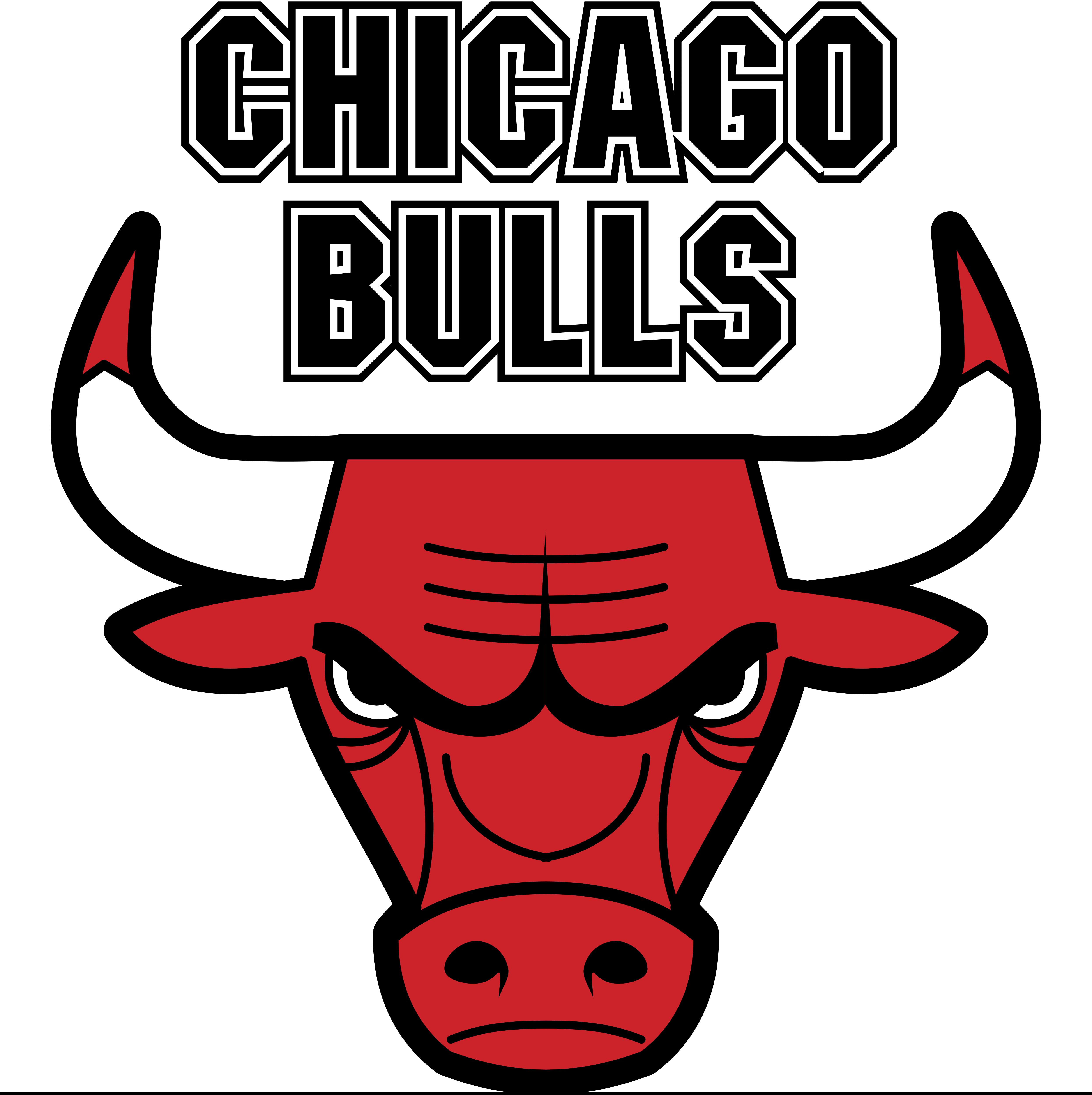 Chicago Bulls Logos Download