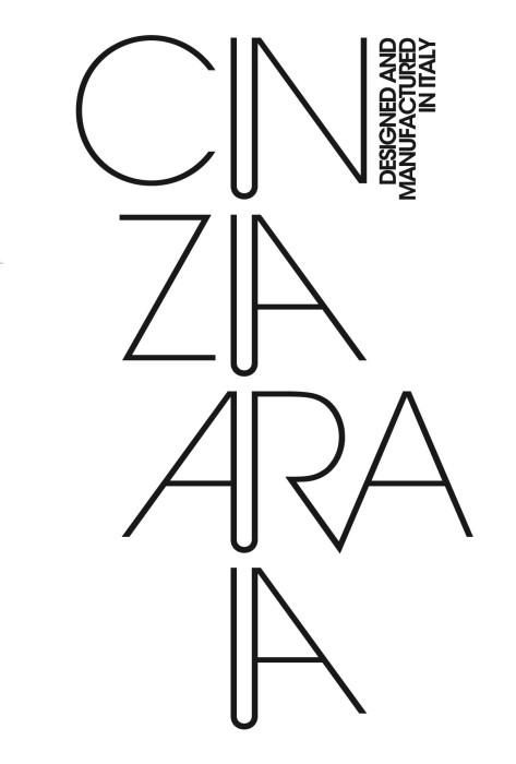 Cinzia Araia logo, logotype, emblem