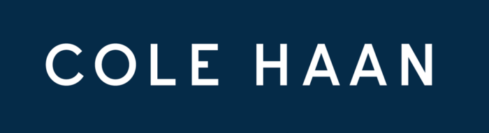 Cole Haan logo, blue
