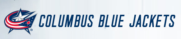 Columbus Blue Jackets logotype and wordmark