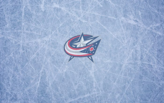 Columbus Blue Jackets wallpaper, widescreen, ice and logo 1920x1200, 16x10