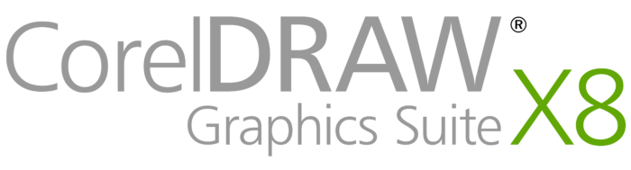 CorelDraw Graphics Suite X8 logo
