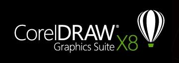 CorelDraw logo, black