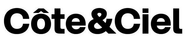Côte&Ciel logo, logotype, workmark (Cote&Ciel)