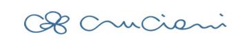 Cruciani blue logo