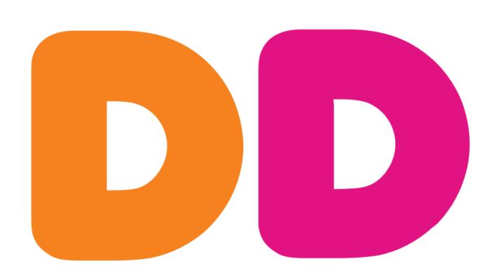 DD logo, logotype (Dunkin Donuts)
