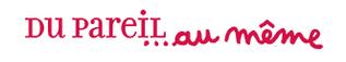DPAM logo, logotype, Du Pareil Am Meme