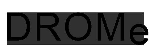 DROMe logo, logotype
