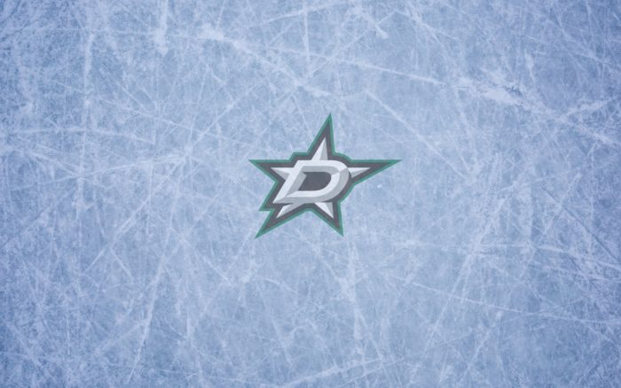 Dallas Stars wallpaper widescreen (ice and logo) 1920x1200, 16x10