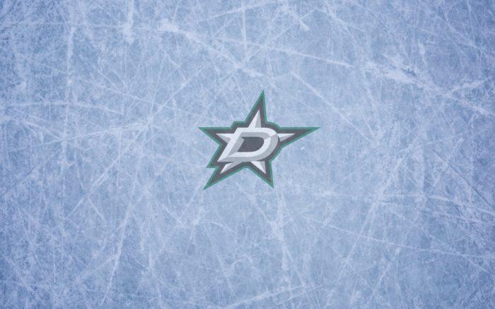 Dallas Stars wallpaper widescreen (ice and logo) 1920x1200, 16x10