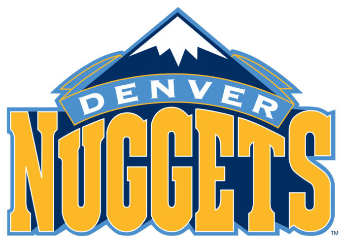 Denver Nuggets logo, logotype