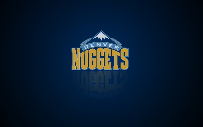 Denver Nuggets wallpaper with logo, widescreen 1920x1200, 16x10