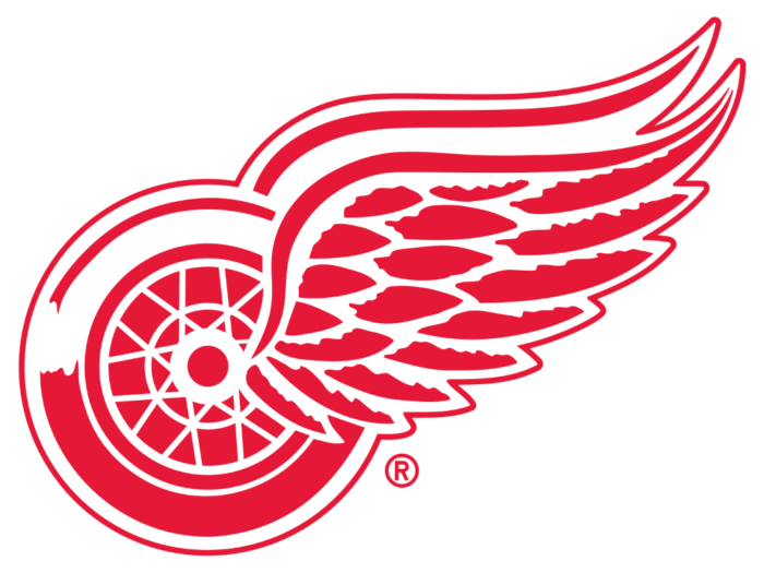 Detroit Red Wings logotype, logo 2