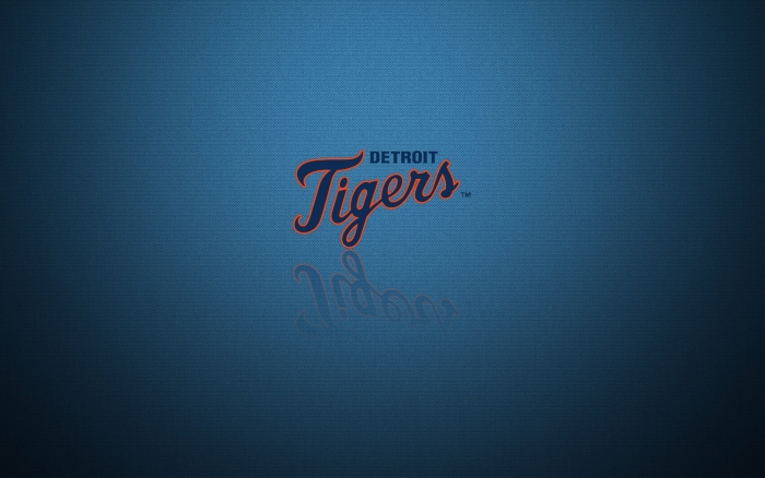 Detroit Tigers wallpaper, logo, blue, widescreen 1920x1200 px
