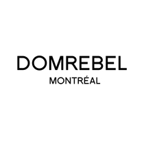 Dom Rebel logo, logotype, wordmark