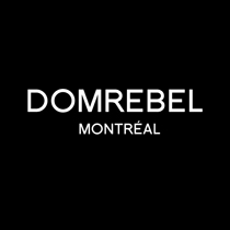 Dom Rebel logotype, black