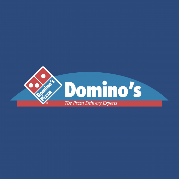 Domino's Pizza logo blue